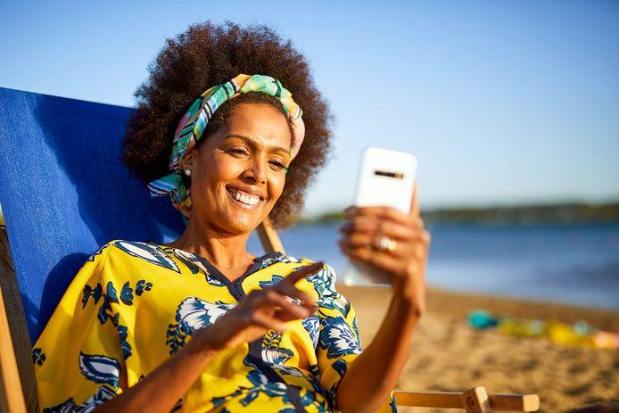 In de zomer de AD app op mobiel