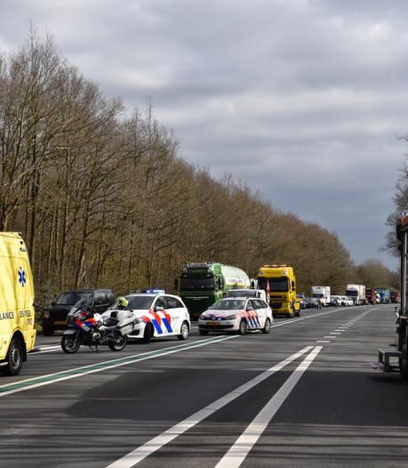 Ernstig ongeval op N36 bij Westerhaar: weg weer vrijgegeven