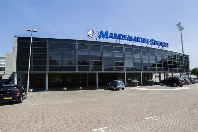 Het Mandemakers Stadion in Waalwijk.