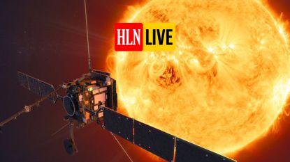 LIVE. Solar Orbiter geeft eerste beelden vrij: nooit eerder werd de zon van zo dichtbij gefotografeerd