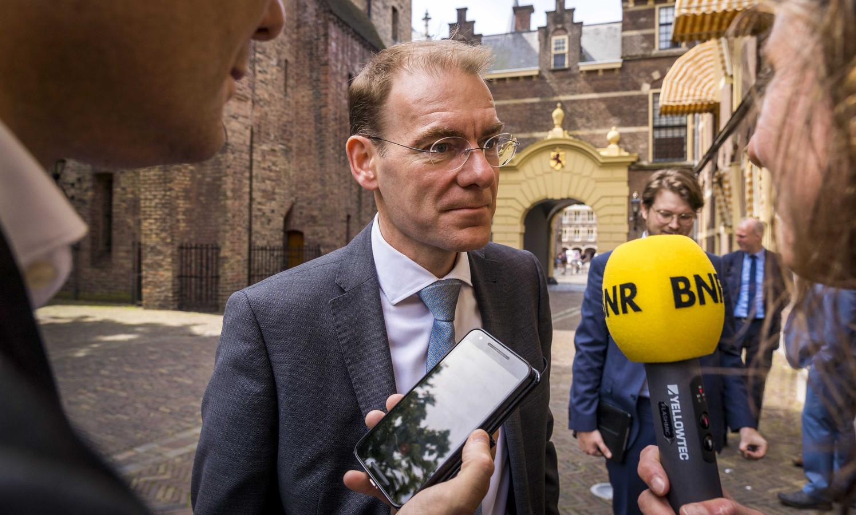 Staatssecretaris Menno Snel van Financiën