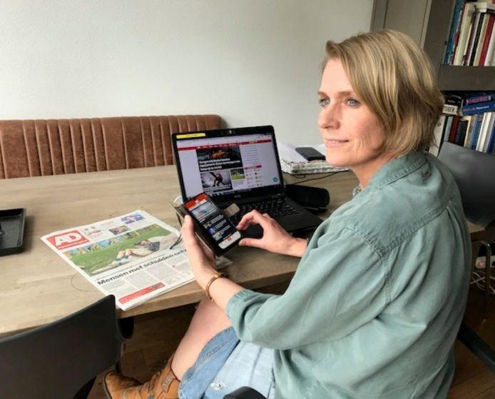 Rennie Rijpma, adjunct-hoofdredacteur AD en de Regionale kranten
