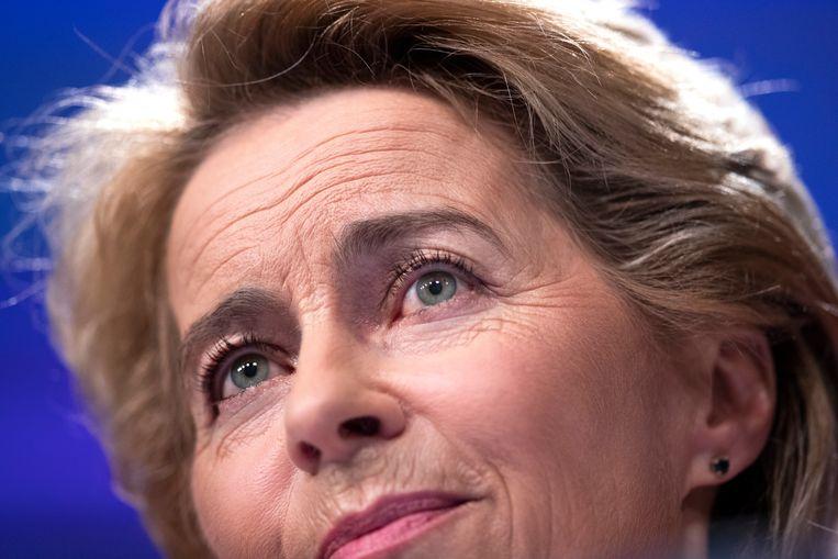 Aankomend Europees president Ursula von der Leyen. Beeld AP