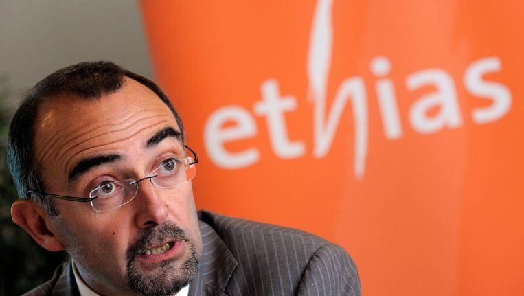 Bernard Thiry werkte sinds 2007 bij Ethias.