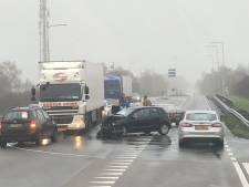 Ongeval met meerdere voertuigen N332 bij Lochem