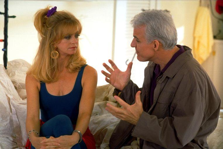 Goldie Hawn en Steve Martin in Housesitter (1992). Beeld Imageselect