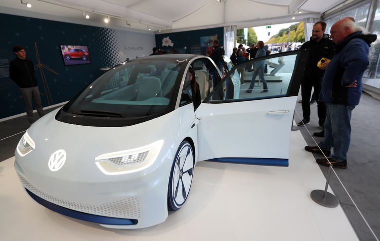 De Volkswagen I.D. is het eerste prototype van een volledig elektrische Volkswagen