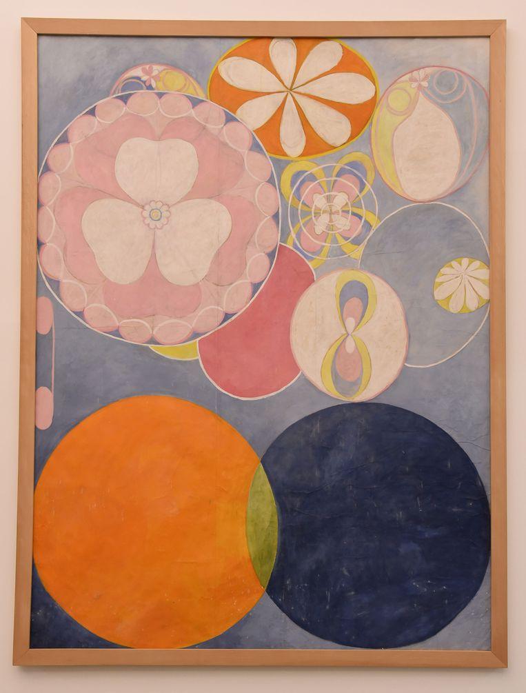 Schilderij van Hilma af Klint. Beeld null