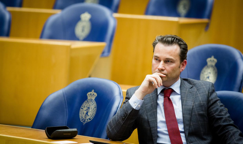 VVD-Kamerlid Arno Rutte.