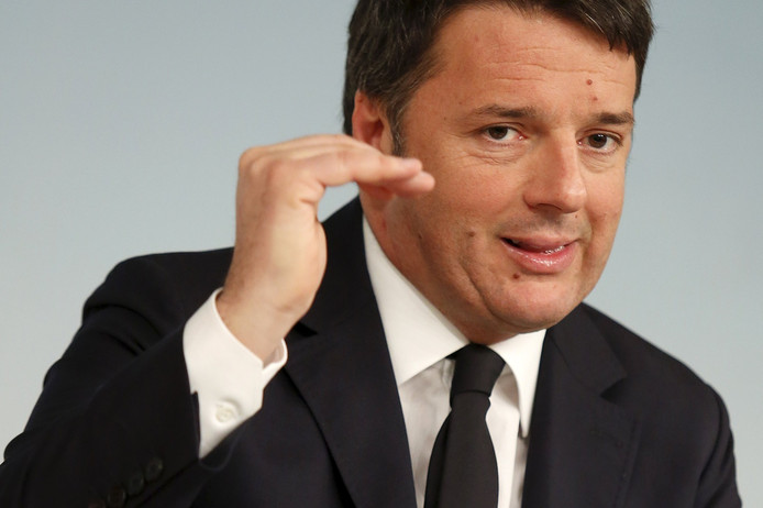 Matteo Renzi, Président du Conseil italien.
