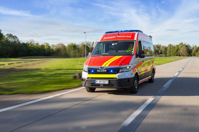 Dankzij het gebruik van optische en geluidssignalen kan de bus snel ter plekke zijn.