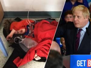 L'étrange réaction de Boris Johnson face à une photo d'enfant malade par terre dans un hôpital