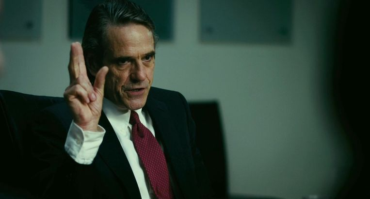 Jeremy Irons in Margin Call. Beeld