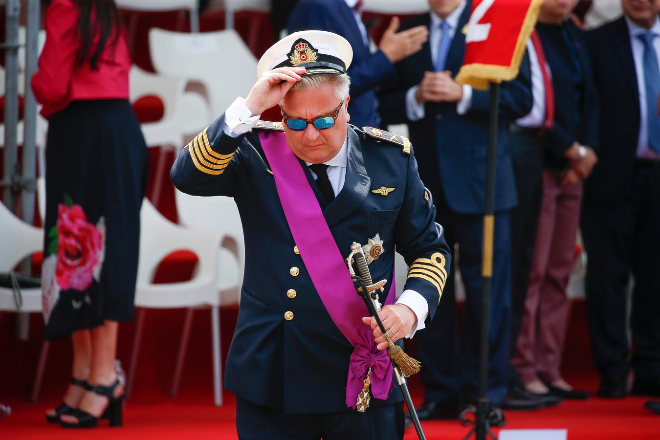 Prins Laurent van België.