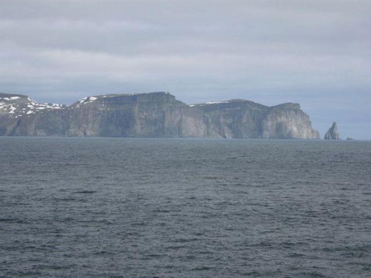 Bear Island in de Barentszzee is aangemerkt als een belangrijke leefomgeving voor vogels Beeld Wikimedia Commons