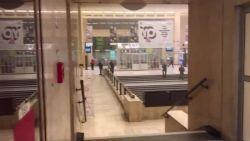 Beelden opgedoken van tweede ontploffing Brussel-Centraal