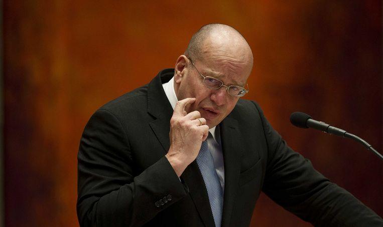 Fred Teeven in 2013 als staatssecretaris van Veiligheid en Justitie. Beeld ANP