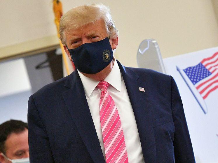 'Trump heeft gesuggereerd dat hij het Witte Huis niet verlaat bij verlies'