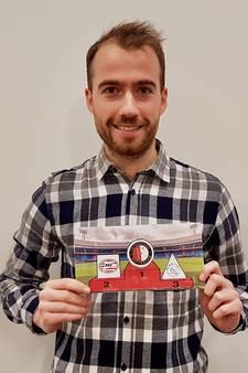 Tom maakte een Feyenoord-puzzel: 'Het is gelijk een stukje opvoeding'
