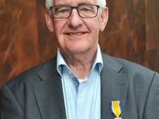 Koninklijke onderscheiding voor Jan Elshof uit Waalwijk