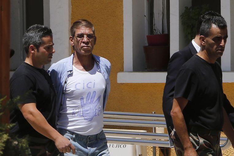 De kaper van de vlucht van EgyptAir in maart van dit jaar wordt naar de rechtbank gebracht.
