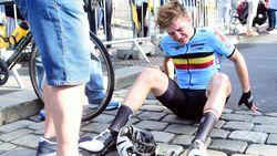"""Belgen vielen letterlijk als vliegen op WK junioren: """"Een én al ellende"""""""