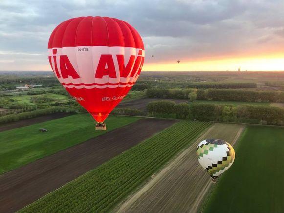 Voortaan kan je met een luchtballon over de streek vliegen.