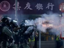 Student na val bij demonstratie Hongkong overleden