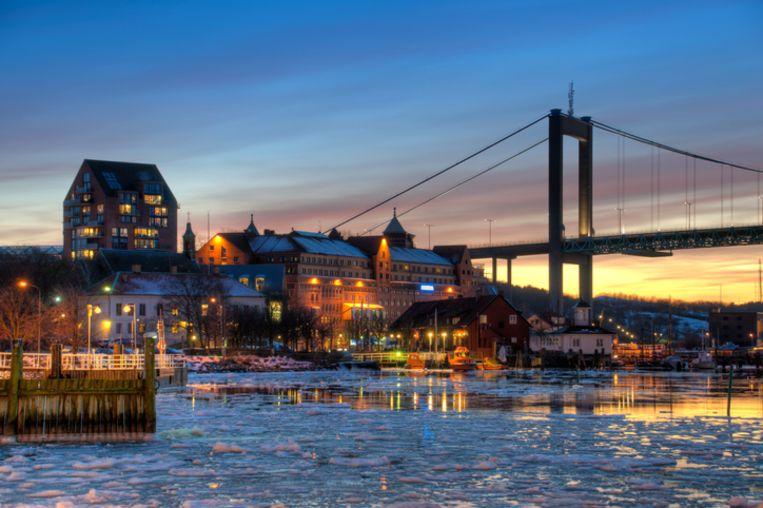 De Zweedse stad Gotenburg.