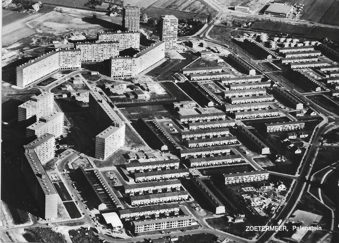 Bouw van Palenstein in jaren zestig van de vorige eeuw.