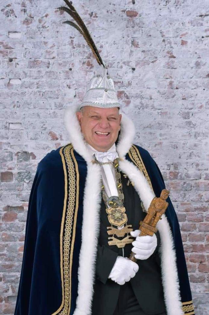 André Jacobs, prins carnaval Ballefruttersgat (Goirle) 2016 en 2020 overleden.