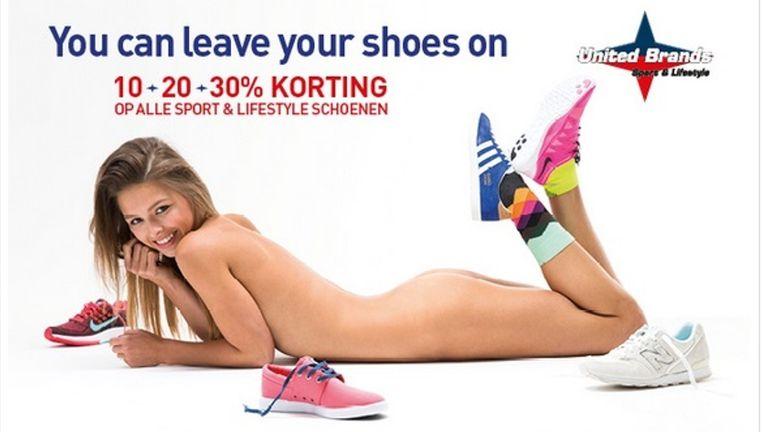 Afbeeldingsresultaat voor naakt in reclame