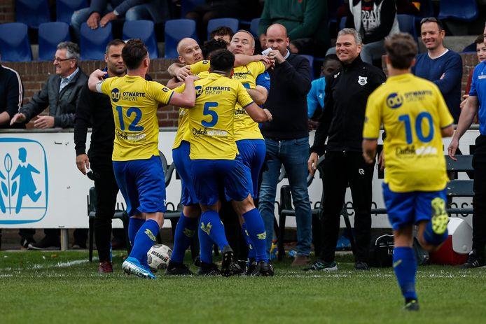 Het duel Dongen - FC Lienden betekende de ommekeer voor De Kanaries.
