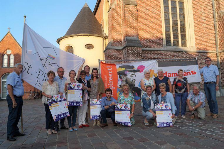 De evenementenreeks van vzw Damiaanactie in Tielt leverde 4.000 euro op.