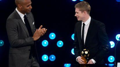 """""""Probeer hem niet te begrijpen, dan krijg je hoofdpijn"""": Thierry Henry maakt een diepe buiging voor Kevin De Bruyne"""