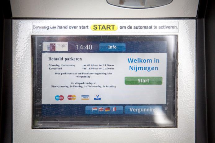 Parkeren is in Nijmegen te duur volgens ANWB-leden.