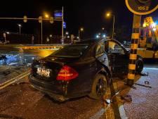 Door rood licht: gewonde bij aanrijding op kruising in Harderwijk