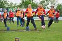 In mei promootte Nooit Gedacht het voetbal voor meisjes, met het Leeuwinnen voetbalfestival van de KNVB.