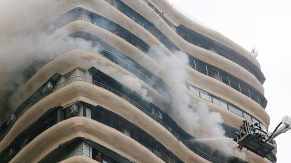 Vier doden en zestien gewonden bij brand in hoogbouw in Mumbai