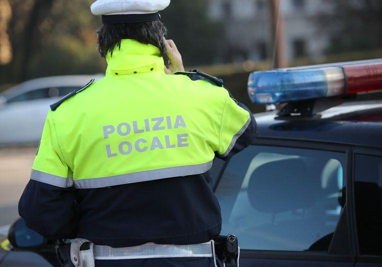 Een illustratiebeeld van de lokale politie in Italië.