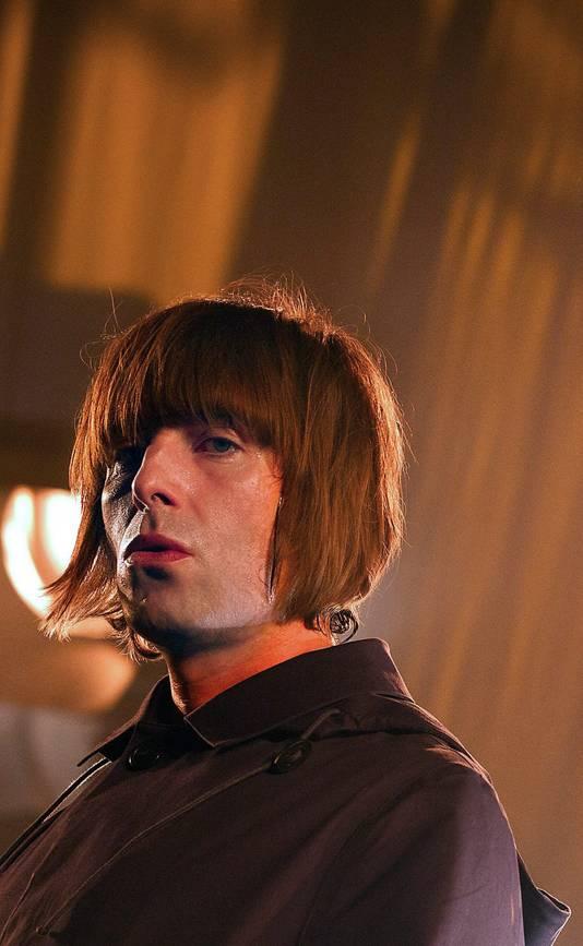 Liam Gallagher vorig jaar in Amsterdam, waar hij optrad met zijn band Beady Eye.