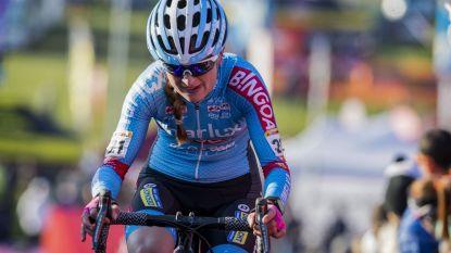 """KOERS KORT (24/11). Denise Betsema pakt vijfde zege van het seizoen in Wachtebeke: """"Heb altijd vertrouwen in mijn sprint"""""""