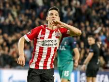 Lozano alweer terug bij de training van PSV