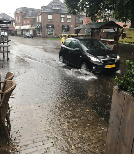 Wateroverlast door regen en smeltende sneeuw