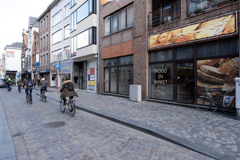 MECHELEN - Bakkerij Brood en Banket in de Hoogstraat werd overvallen kort voor de arrestatie op 22 maart 2019