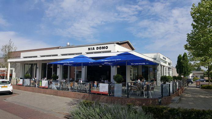 Bij Nia Domo in Boekel is nog ruimte om het terras uit te breiden.