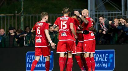 VIDEO. Antwerp maakt geen indruk maar wint van KV Oostende dankzij Mbokani, discutabele fases ontsieren partij