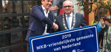 Rijssen-Holten ook landelijk MKB-vriendelijkste gemeente