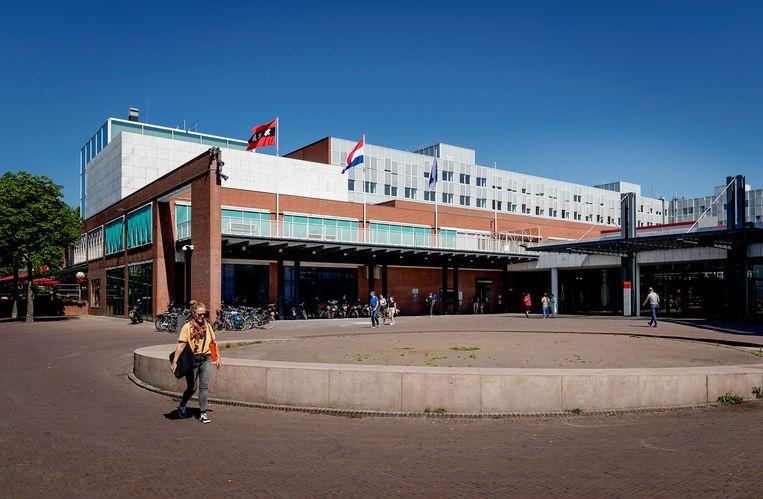 Het Amsterdamse stadhuis, waar donderdag de Diemense wethouder Jorrit Nuijens werd gearresteerd. Beeld ANP