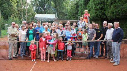 Na vijf jaar zonder tennisterrein is er weer toekomst in Terjoden voor tennisclub Byblos